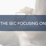 What is the SEC focusing on in 2021?